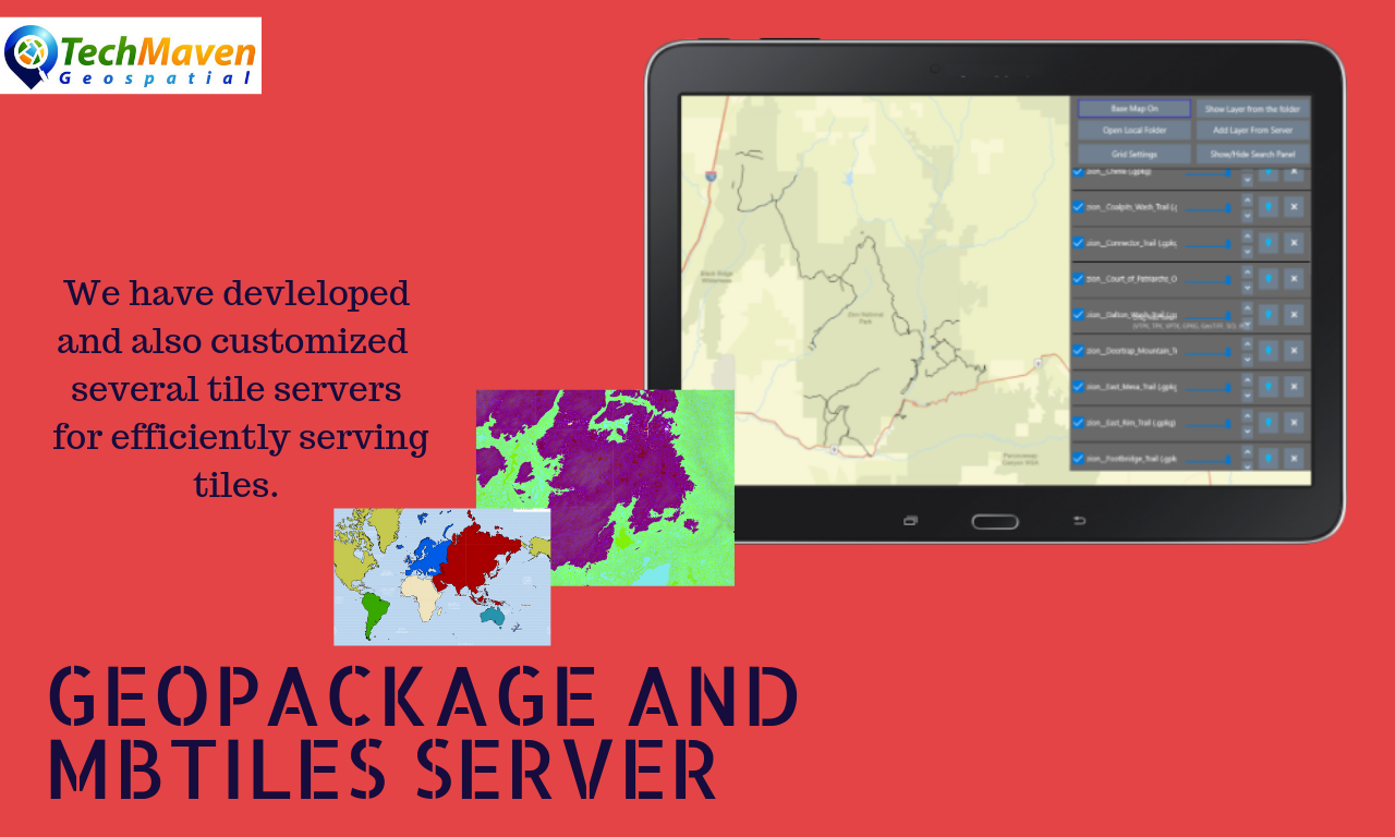 GeoPackage and MBTiles Tile Server