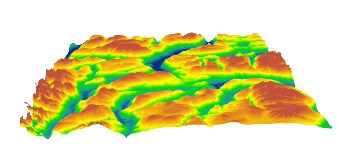 Terrain Elevation Data Services