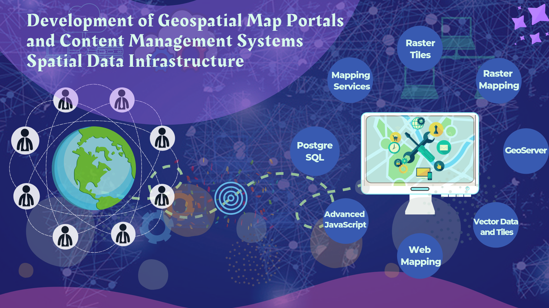 Geospatial CMS-SDI Development