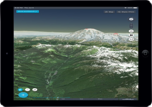 Earth Explorer 3D Map App