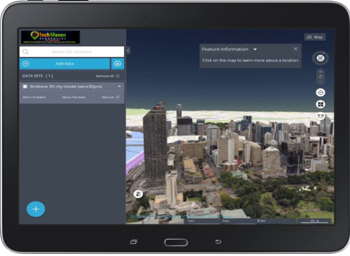 Earth Explorer 3D Map App
