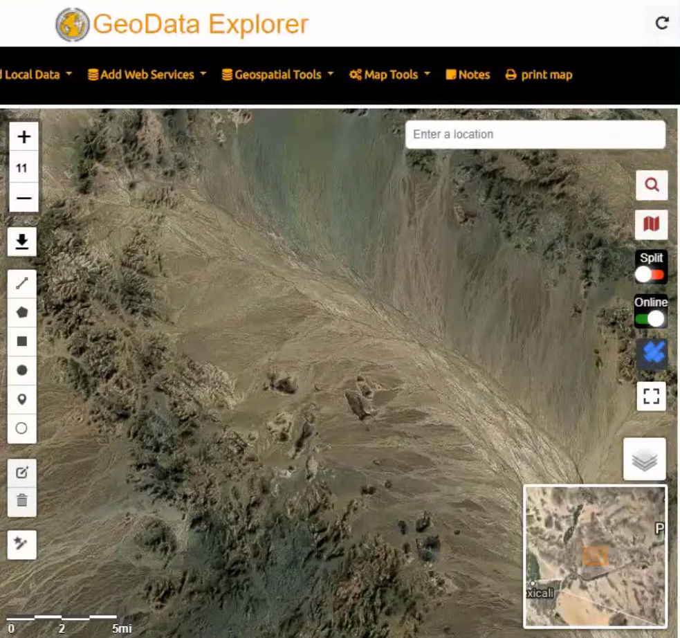 Geo Data Explorer