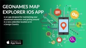 GeoNames Map Explorer