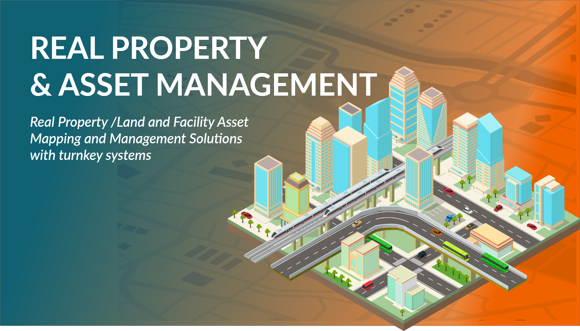 Real Property and Asset Management Mapping Solutions